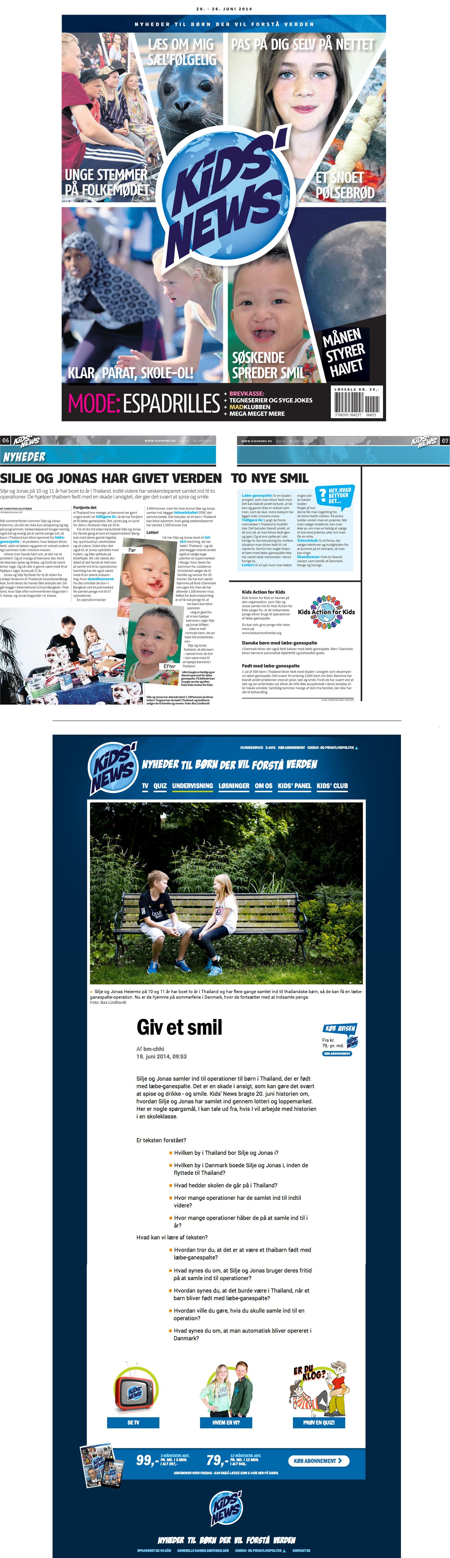 Kids' News – Denmark (online)