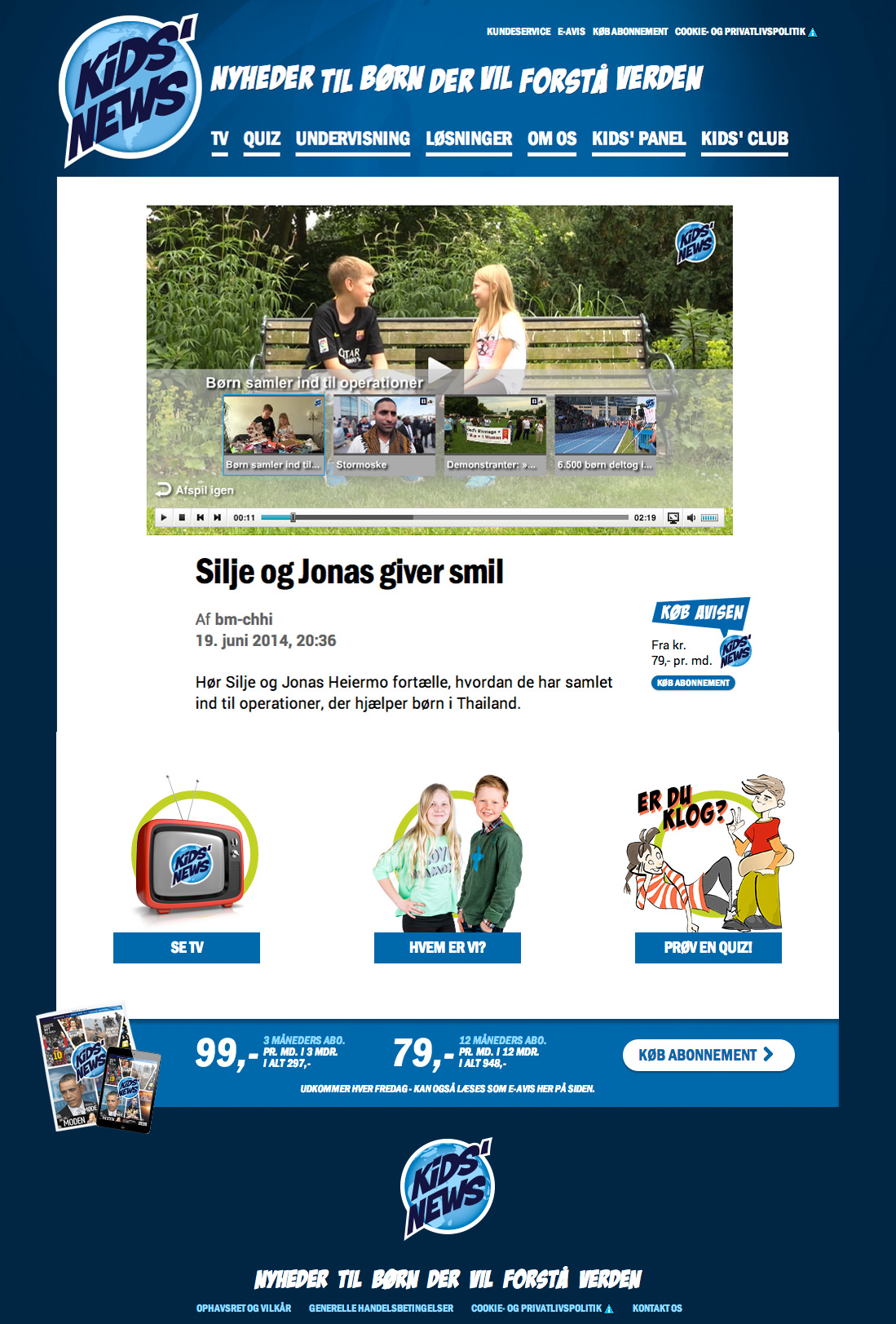 www.kidsnews.dk – Denmark (online)
