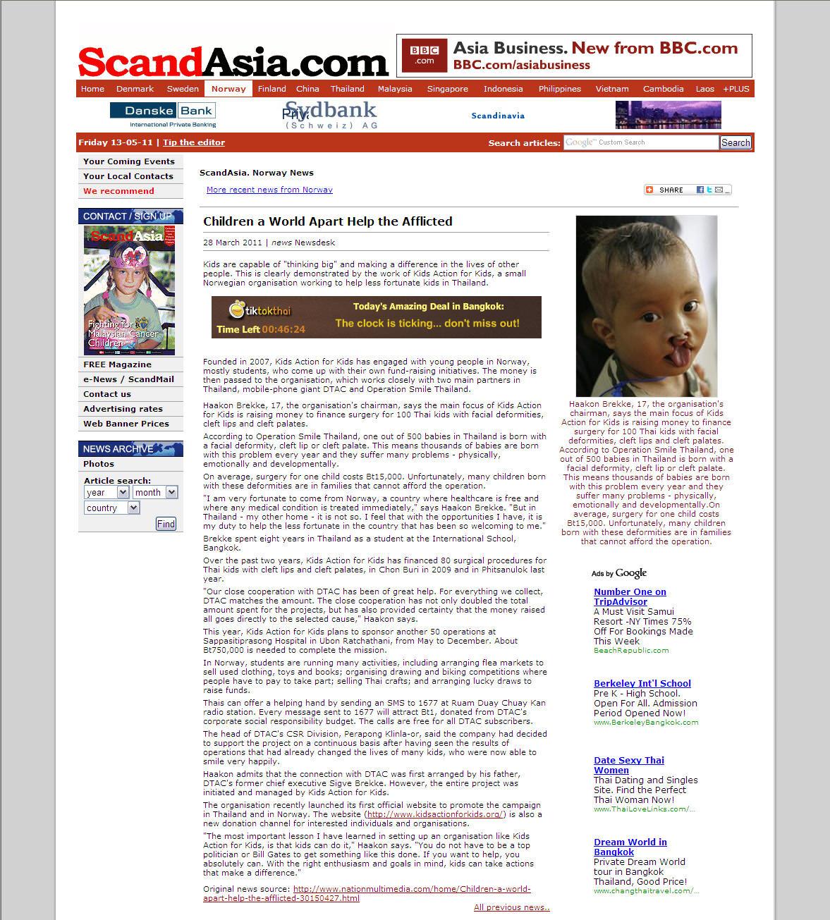 ScandAsia – Thailand (online)