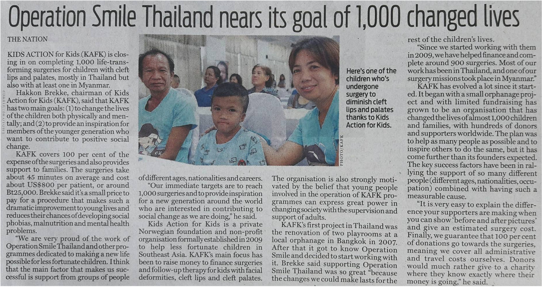 The Nation – Thailand